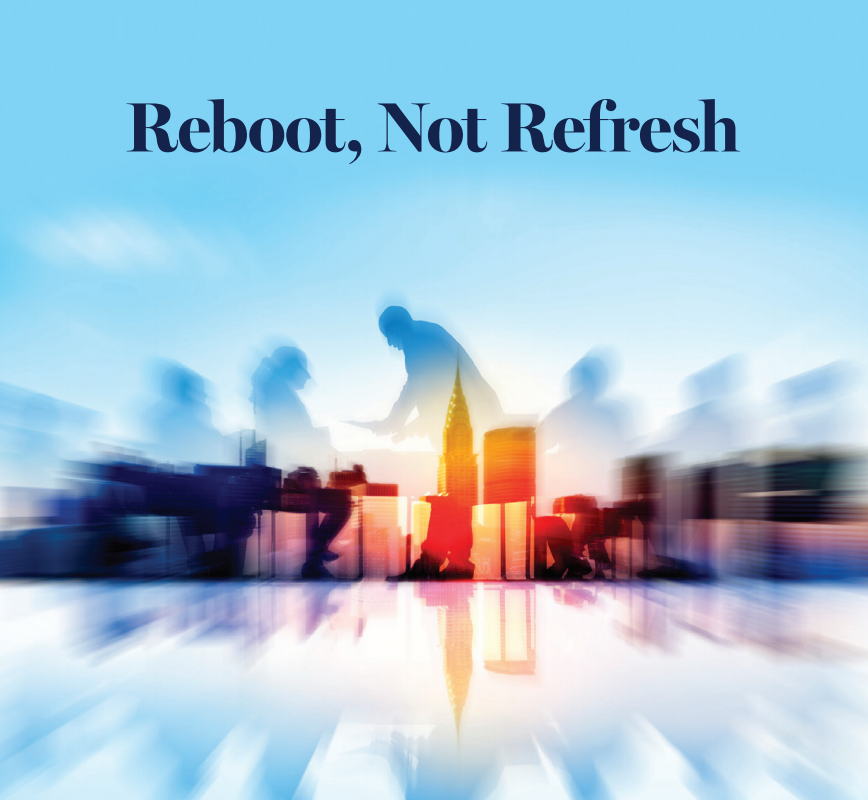 Reboot, Not Refresh Cover Image